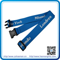 New arrival fashion design name brand elastic luggage strap luggage band