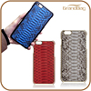 Best selling high quality genuine python snakeskin leather mobile phone case cell phone cover for iPhone 6