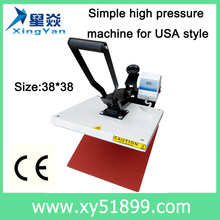 40*40 Cheap Transfer , Sublimation Machine/Digital T-Shirt heat press machine/USA tyle High Pressure Heat Transfer Machine