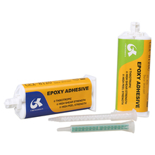 two component clear epoxy structure AB glue adhesive for leather