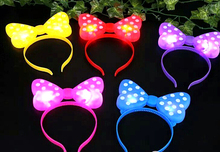 Wholesale New LED flash Crown hair band concert party wholesale