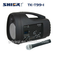 TK-T99 Portable 35W amplifiered fq mini digital speaker with remote control