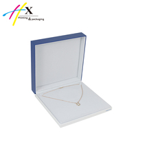 cheap custom packaging box for jewelry, bule luxury jewelry paper box ,china hot selling jewelry gift box wholesale