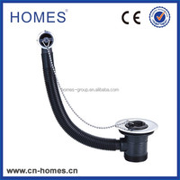 Plastic pipe Sink combi drain ss grid 83mm