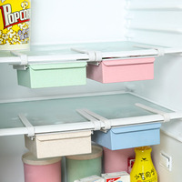 Refrigerator Preservation Fruits Vegetables Kitchen Plastic Storage Box