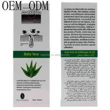 OEM/ODM improve dull skin aloe whitening cleansing milk with men's facial cleanser