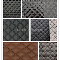 Embroidered PU Synthetic Leather With Sponge