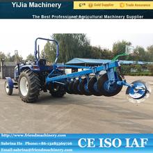 Agricultural land tillage tractor 6 furrow disc plow with CE