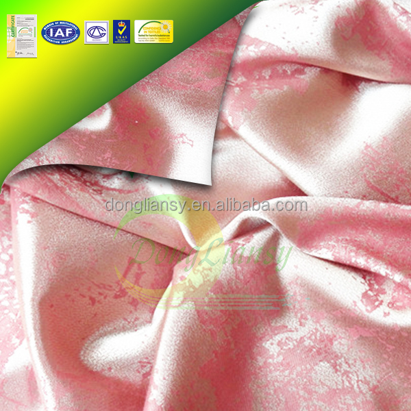Printed Polyester Silk Fabric/ Polyester Material of Mattress Fabric