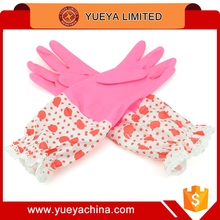 Thickening Non-Woven Dish Washing Laundry Cleaning Glove Kitchen Waterproof PU Household Gloves
