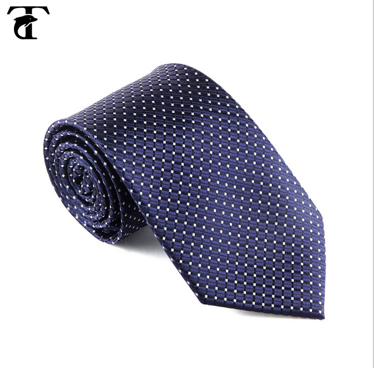 Hand made italian wholesale cheap custom woven mens skinny polyester neck silk tie