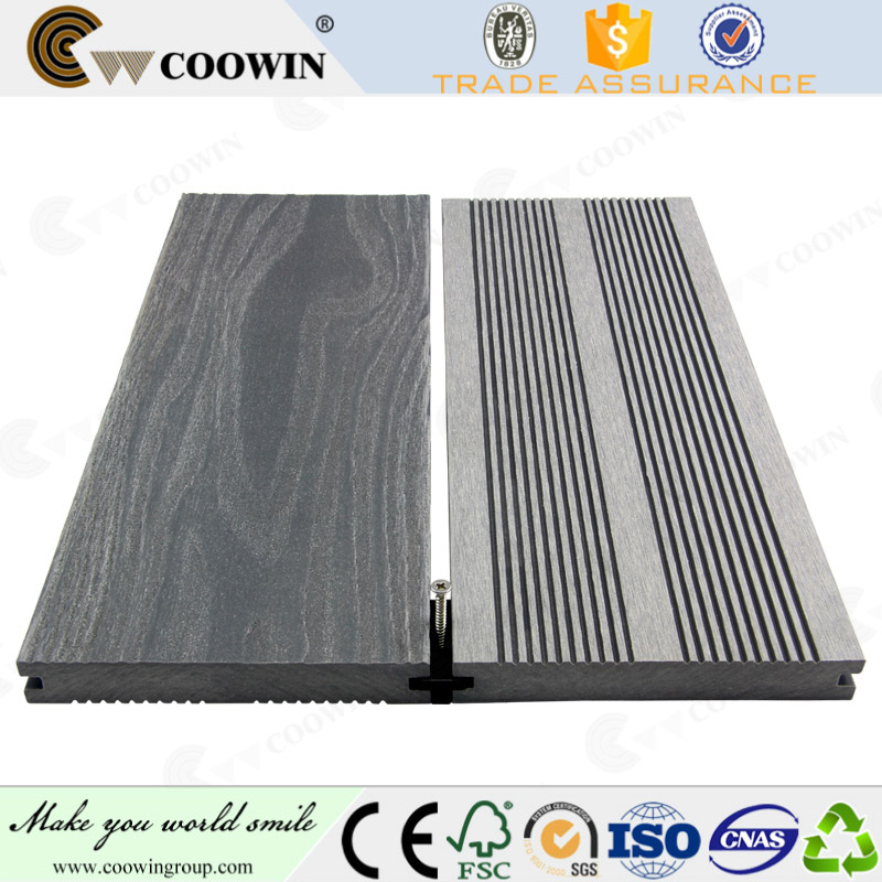 Barefoot wpc outdoor deck/plastic floor covering/flooring with CE