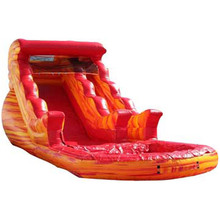 most popular Wild Rapids inflatable water slide/ waterslide/ wet dry slide for sale