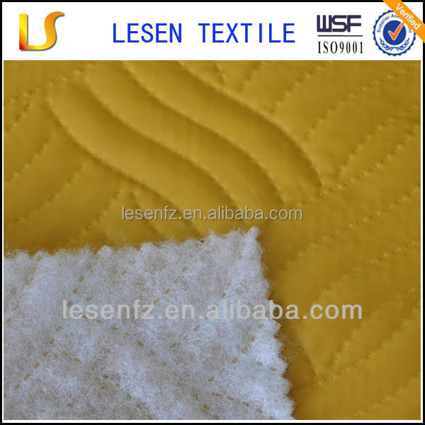Lesen Textile pre quilted cotton fabric/quilted fabric