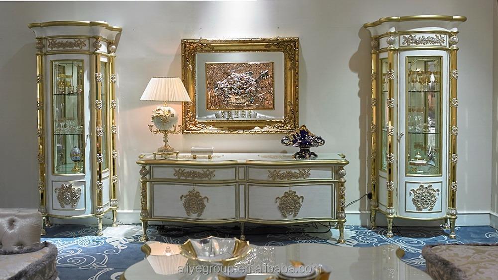 gdm014 luxury cl sica royal barroco sill n estilo franc s silla de comedor de madera muebles de. Black Bedroom Furniture Sets. Home Design Ideas