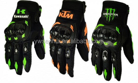 Street Bike Full Finger Motorcycle Racing Gloves