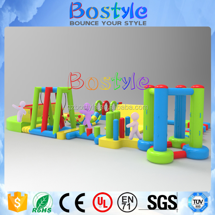 Hot selling inflatable amusement park indoor water parks