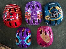 Chinese plastic safety sports helmet