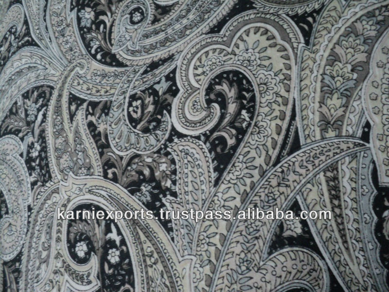 COTTON CAMBRICS FABRICS WITH PAISLEYPRINTS Indian exporters of Cotton fabrics printed Dyed white Jaipur Manufacturer & Export