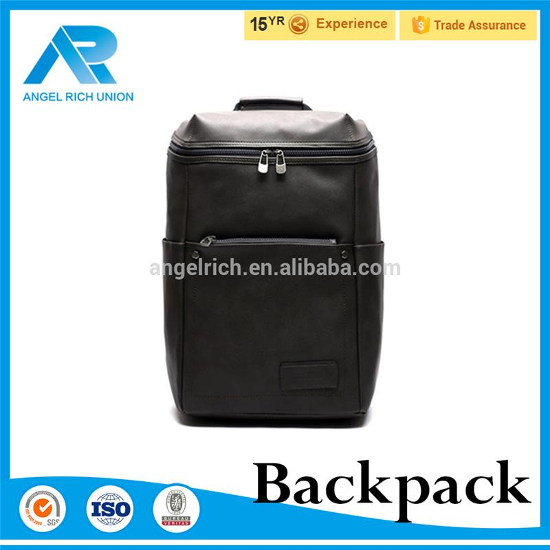 Hot selling Artificial leather waterproof laptop mens women backpack