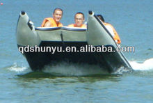 (CE)S430 6 passengers inflatable high speed racing rowing boat