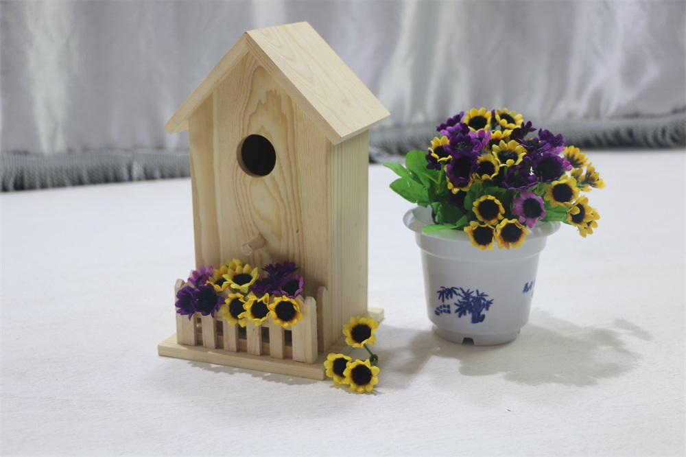 Wooden Bird House/ Wooden Bird Cage/Pet House