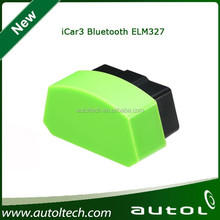 Vgate icar 3 ELM327 Bluetooth OBD trip computer, mobile phone support system Android IOS 5 color options