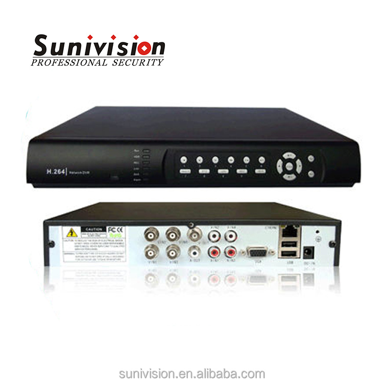 SUNIVISION Factory for network h 264 dvr firmware