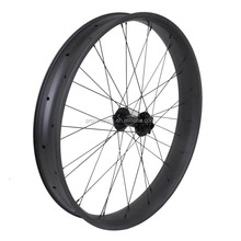 2017 Popular wholesale cheap bicycle wheel Toray T700 carbon 26er ERD 533mm width 80mm hookless carbon fat bike rim
