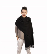 "Yazer Large 78.7""x27.6"" Luxurious Cashmere Scarf,Shawls for Women and Men"