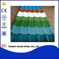 Thickness 0.23-0.8mm corrugated ppgi sheets for decorative with low price/prepainted galvanized steel sheet