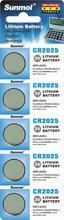 hot sale CR2025 button cell battery