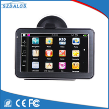 External SD card support 5inch universal gps navigation box sd card free map windows ce 6.0 gps software