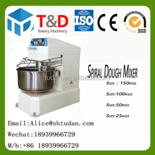 T&D Bakery-- Electric Croissant Bread Cake cookie Industrial dough mixer bakery mixing 25 50 200kg cake mixers food machine