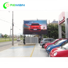Wall mounted standing led video wall full color outdoor p4 p5 p6 led display higher resolution