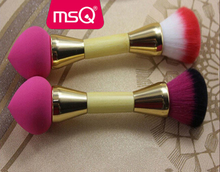 MSQ Double Sides Foam Eye Shadow Makeup Stick Eye Brush Makeup Cosmetic Applicator Tool
