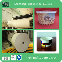 high quality ice cream paper cup base paper