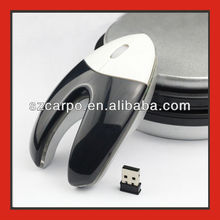 2012 hotsale wireless mouse with docking station V5
