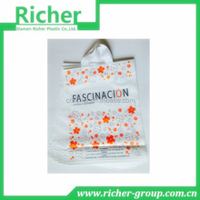 Printed custom made plastic shopping gift bag wholesale