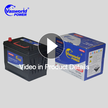 Japan ECO High Quality Heavy Weight n60 mf car battery