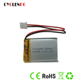 3.7V 600mah 503040 size rechargeable lithium polymer battery