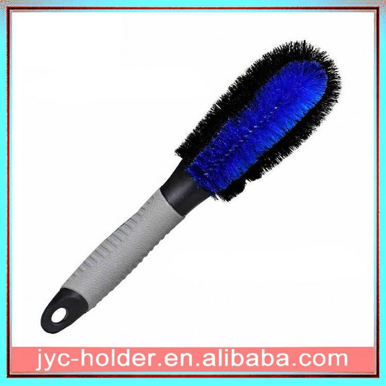 pp car wheel wash brush ,H0T087 hand held tire brush