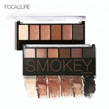Focallure New Design Fashionable Long Lasting 6 Colors Palette Eyeshadow Sexy