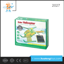 made in china high quality solar power toy helicopter for kids