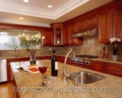 Chinese Brown Prefab Granite Countertop