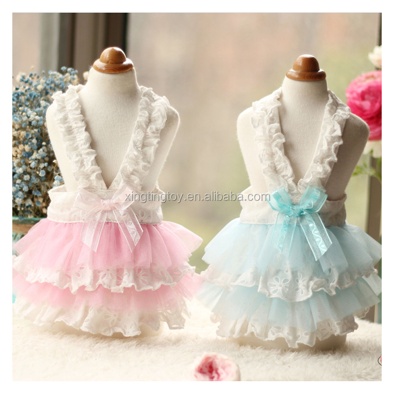 Spring New Luxury Dog Clothes Princesses Wedding Dresses