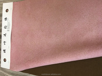 100% Polyester Faux Suede/Micro Suede Upholstery Fabric for Sofa, Garment, Shoes