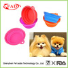FDA And LFGB Approve Travel Collapsible Silicone Pet Dog Bowl