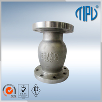 high quality spring loaded non slam check valve for oil and gas