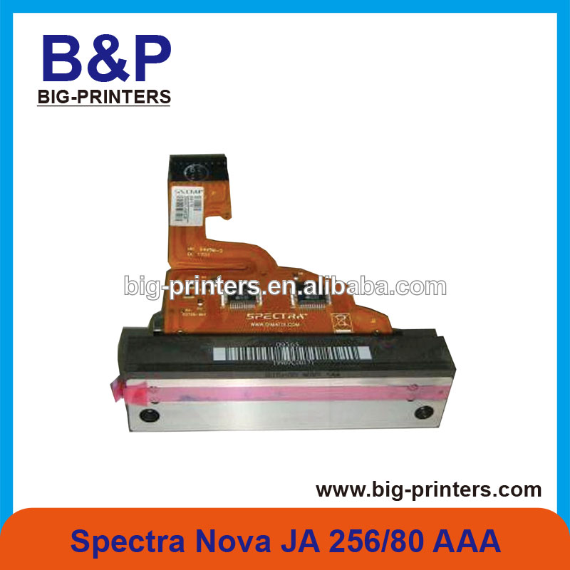 Original and 100% New ,original spectra nova 256 printhead for vutek /gongzheng printer(JA256 80pl AAA print head)